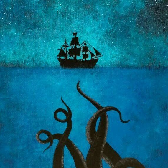 Танцевальный вечер Зов моря