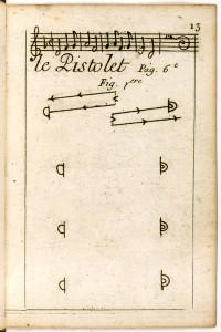 Le Pistolet, figure 1